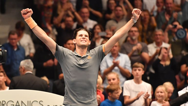 Dominic Thiem continued his quarter-final streak after making progress at his home tournament in Vienna