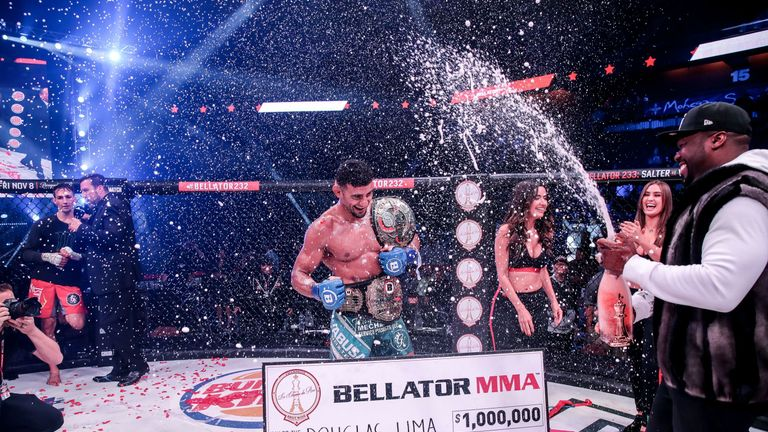 Douglas Lima defeated Rory MacDonald on Bellator 232 via unanimous decision