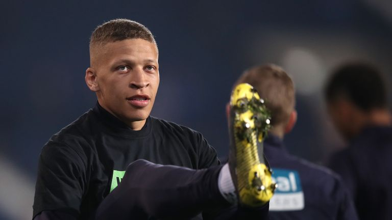 Dwight Gayle made his first Newcastle appearance of the season last week