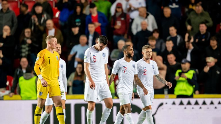 England suffered a surprise defeat in the Czech Republic on Friday night