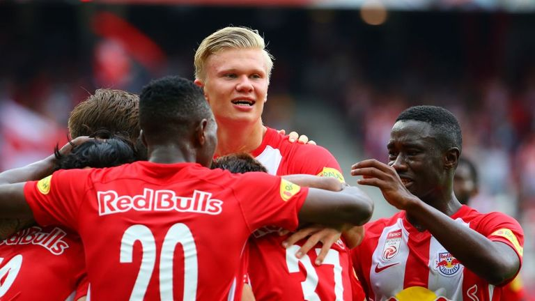 Erling Haaland has been linked with a number of clubs in recent days