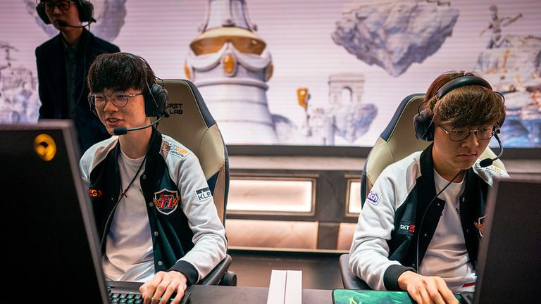 SKT are one of the strongest teams at Worlds (Credit: Riot Games)