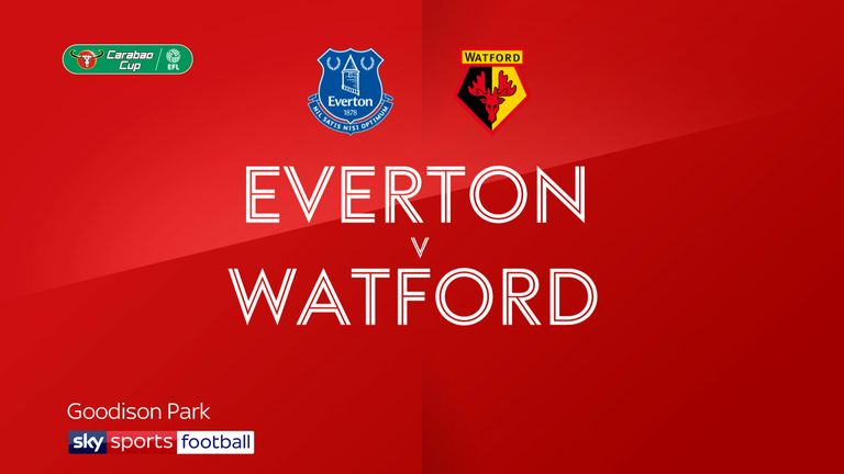 Highlights of the Carabao Cup last-16 match between Everton and Watford.