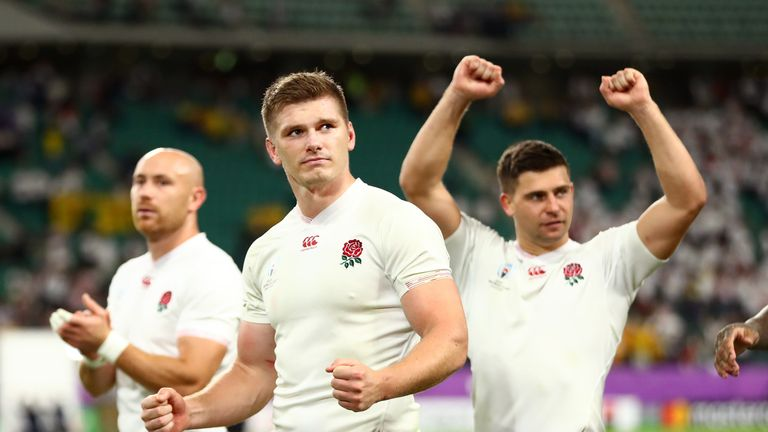 It has been a remarkable change in fortunes for England in the space of a year