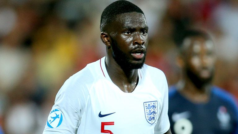 Fikayo Tomori played for England U21s in the European Championships in the summer
