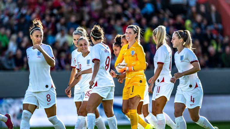 England progressed to the semi-finals of this year's Women's World Cup