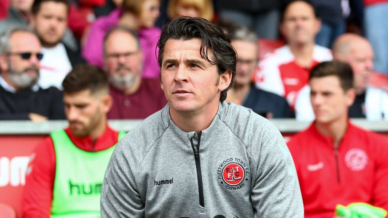 Joey Barton was charged after an incident at Oakwell in April