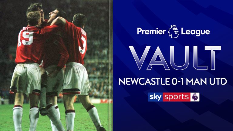 Ahead of Newcastle and Man United clash on Sunday, we take a look back to their match in 1996, where despite Newcastle's dominance Cantona scored the only goal, meaning United beat Newcastle to the Premier League title.