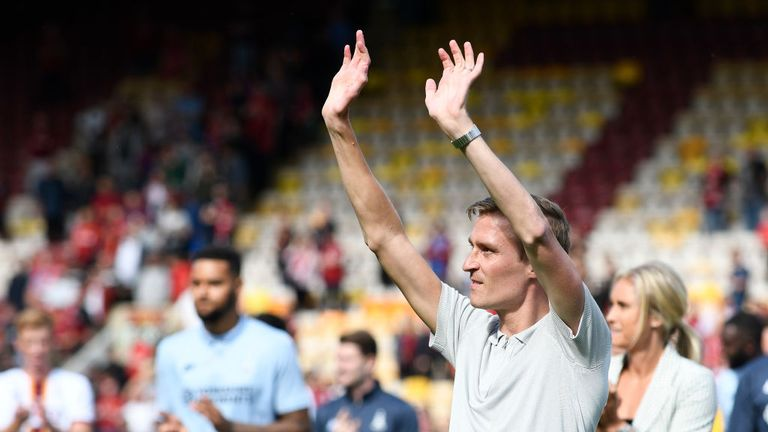 Stephen Darby was diagnosed with motor neurone disease in September 2018