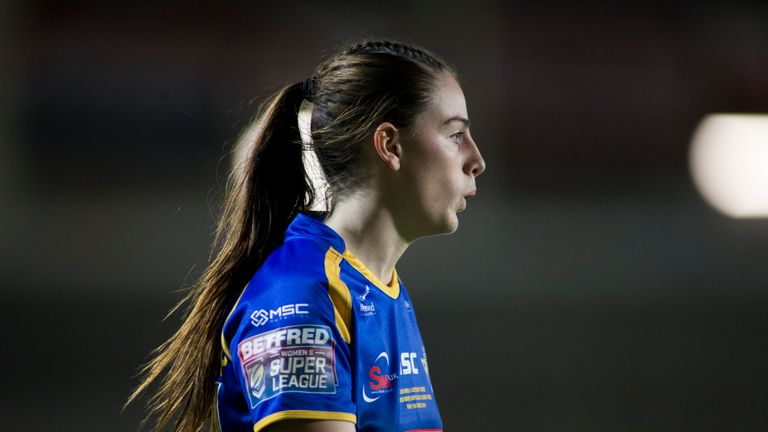 Fran Goldthorp ran in two second-half tries for Leeds