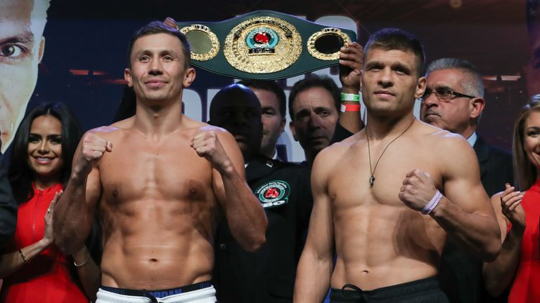 Gennadiy Golovkin survives scare to regain IBF title