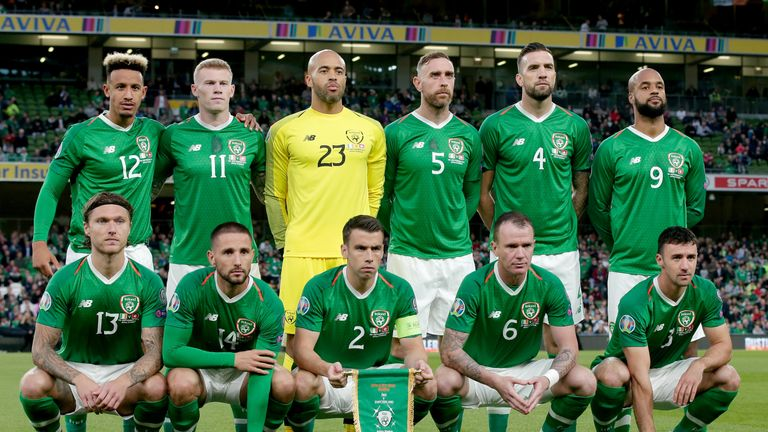 Whelan has 88 caps for his country