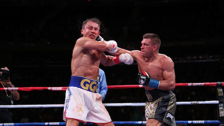 Derevyanchenko gave Golovkin nightmares at times