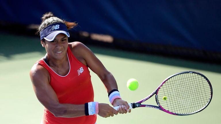 Rebecca Peterson beats Heather Watson and rain to win title — WTA Tianjin