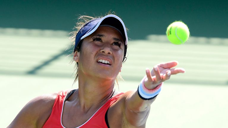 Heather Watson digs deep to secure Tianjin Open semi-final spot