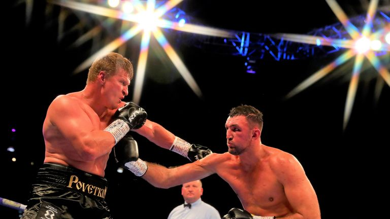 Fury suffered a unanimous decision loss to Alexander Povetkin in August