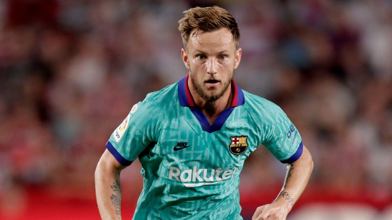 Ivan Rakitic will be targeted by AC Milan as a replacement for Franck Kessie