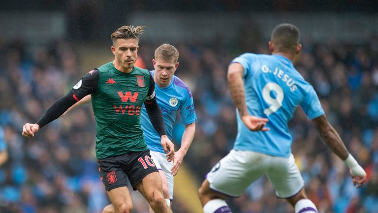 Jack Grealish is set to sit out Aston Villa's tie with Wolves on Wednesday