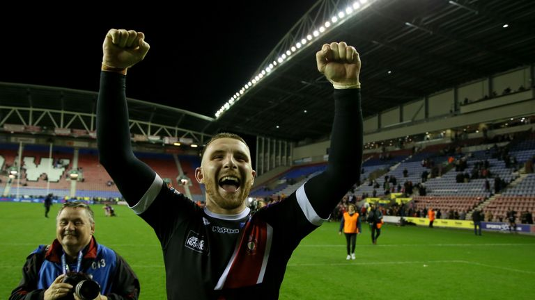 Jackson Hastings has joined Wigan from Salford