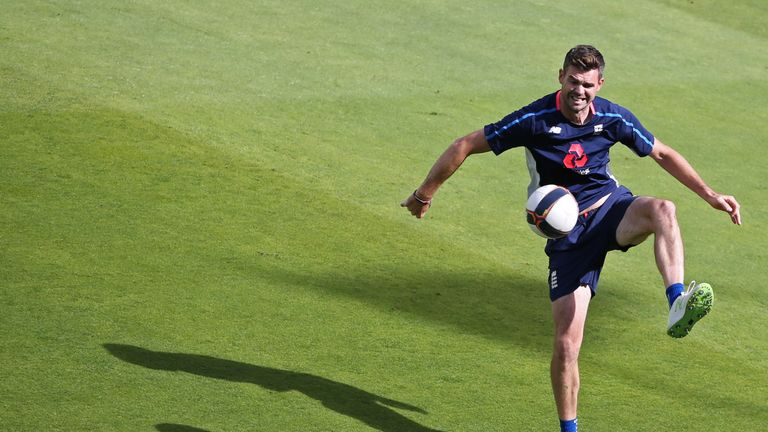 James Anderson will work on strength and conditioning at the Etihad Campus