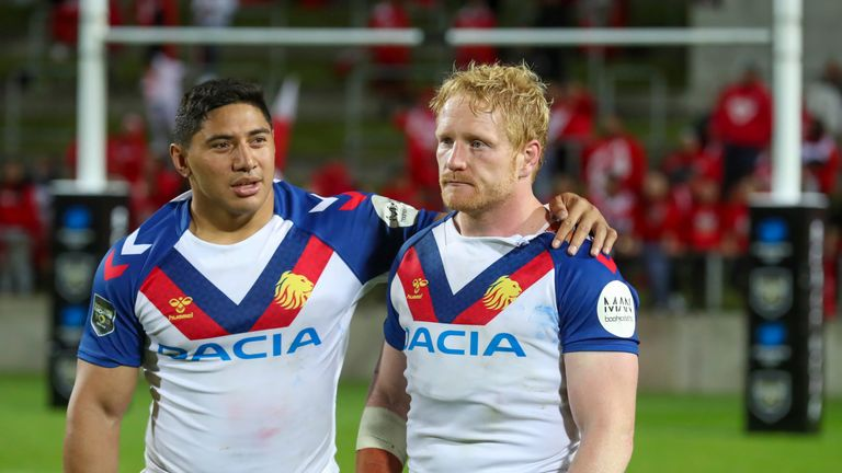 Great Britain captain James Graham suffered defeat in his 50th international appearance