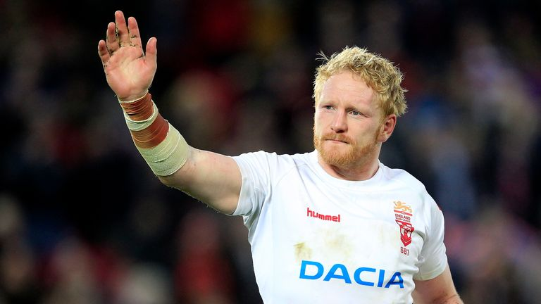 James Graham captains England at the World Cup Nines