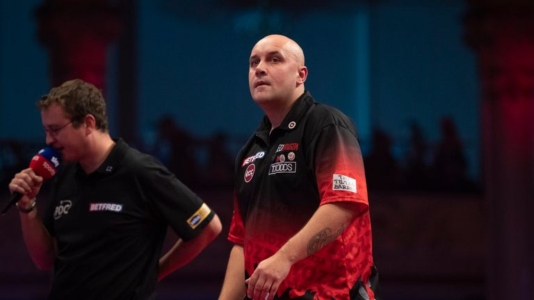 Jamie Hughes won his maiden PDC title at the Czech Darts Open