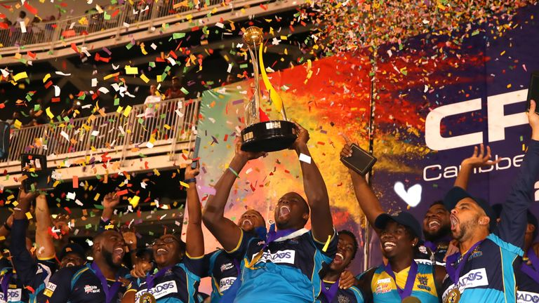 Barbados Tridents win CPL title