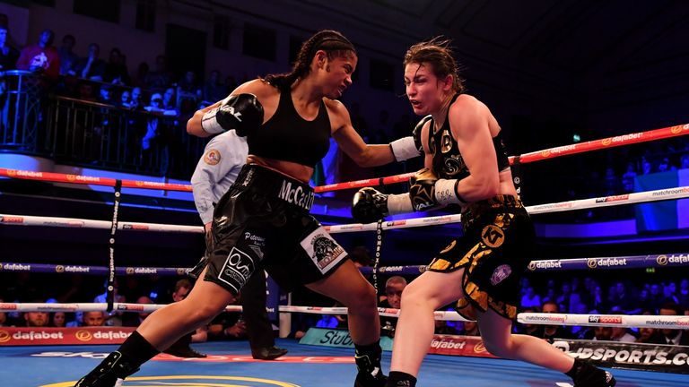 McCaskill forced Katie Taylor to dig deep when they met in London