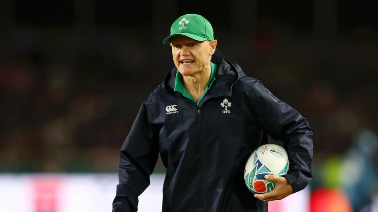 Schmidt was Ireland head coach from 2013–2019