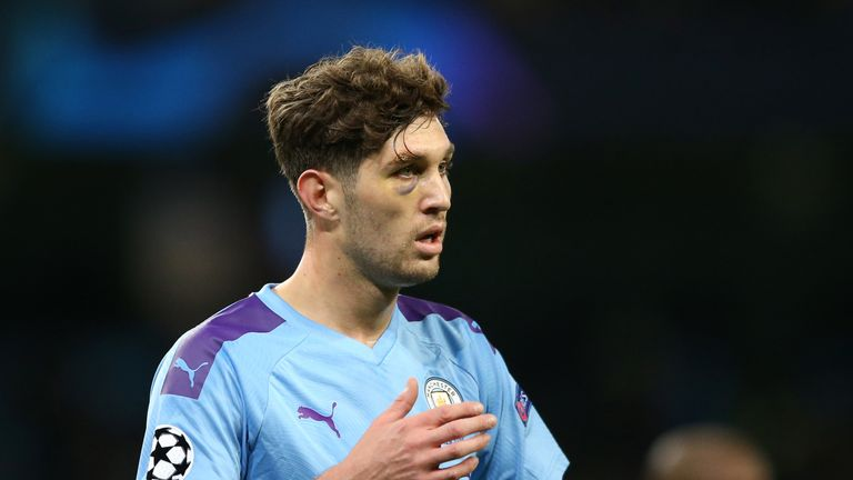 John Stones struggled after being called on to replace the injured Rodri