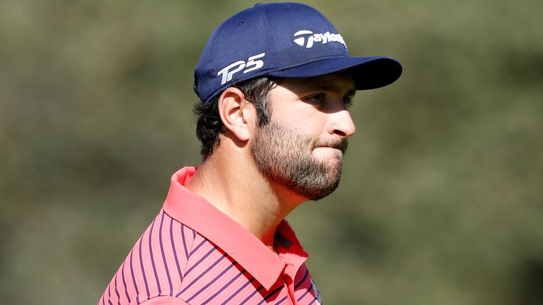 Rahm ended the week on 22 under, equalling the tournament record