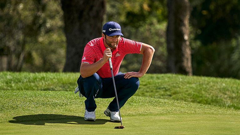 Rahm moves above Shane Lowry to No 1 in the Race to Dubai standings
