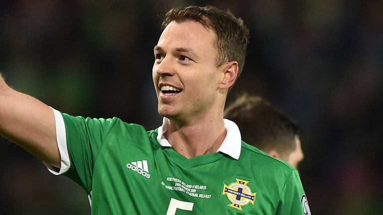 Jonny Evans is in confident mood for Northern Ireland's Euro 2020 play-off chances