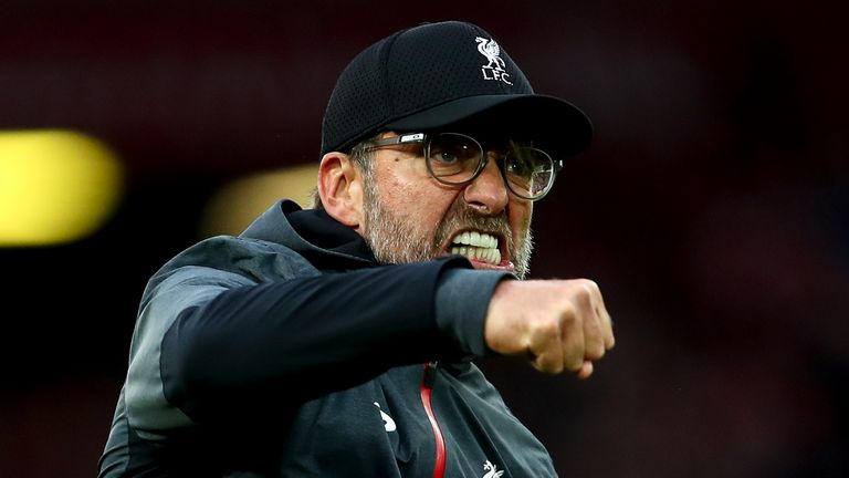 Jurgen Klopp's Liverpool won all three of their Premier League matches in September
