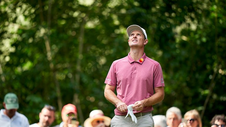 Justin Rose will be playing for pride on Sunday after a disappointing 78