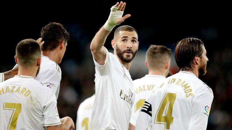 Karim Benzema was on form as Real Madrid thrashed Leganes