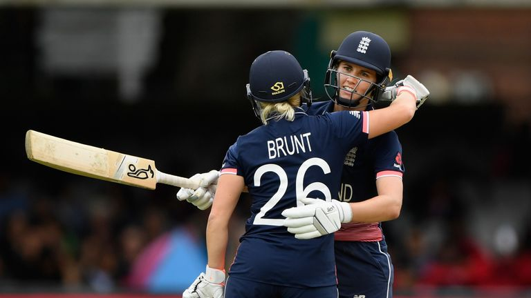 Katherine Brunt and Nat Sciver have announced their engagement