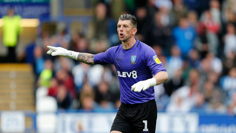 Sheffield Wednesday goalkeeper Keiren Westwood is back in contention following an ankle injury.