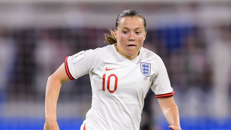 Fran Kirby missed England's last two matches against Belgium and Norway with injury