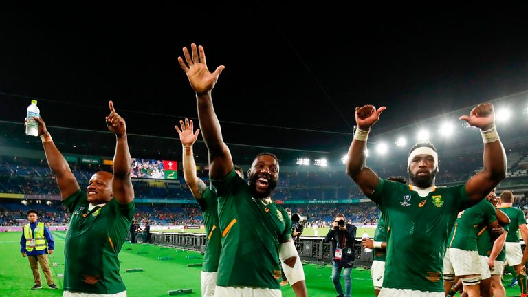 The Springboks will contest a third-ever Rugby World Cup final, after narrowly beating Wales