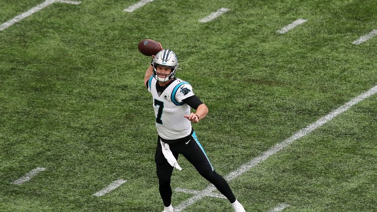 Kyle Allen gave Carolina Panthers fans a reason to be cheerful