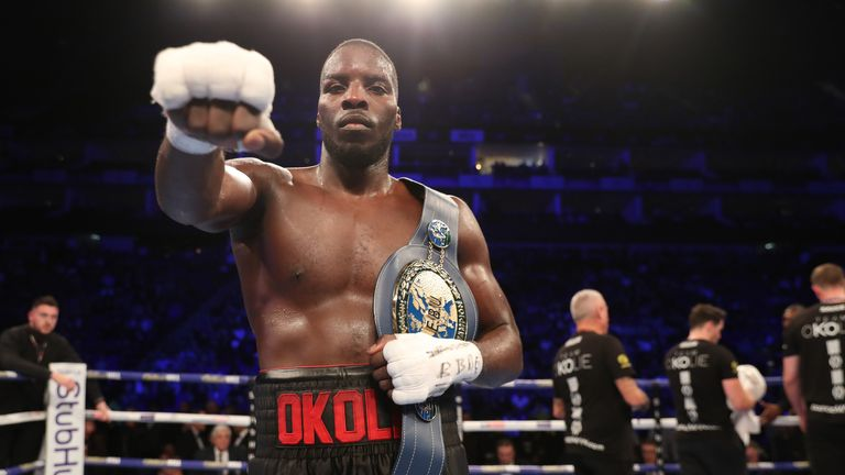 Lawrence Okolie can become the new WBO champion in early 2020