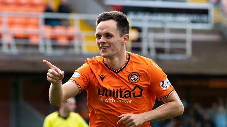 Lawrence Shankland has earned his first call-up to the Scotland senior squad