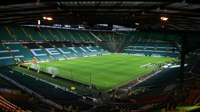 Celtic have been charged over issues at their match against Lazio