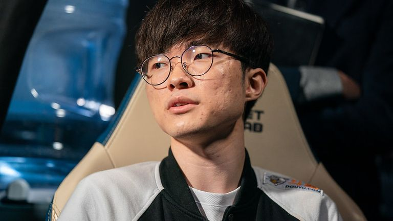 Faker has been causing havoc on the rift since his return to Worlds (Credit: Riot Games)