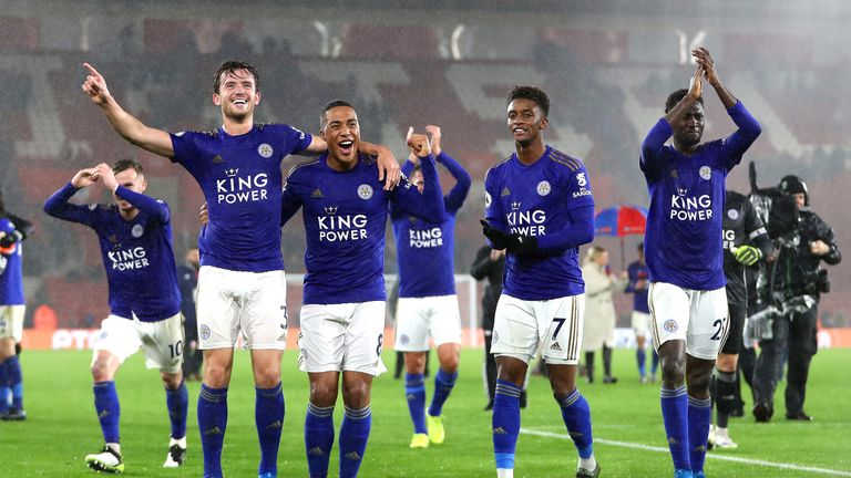 Leicester S Historic 9 0 Win Against Southampton What They Said Football News Sky Sports