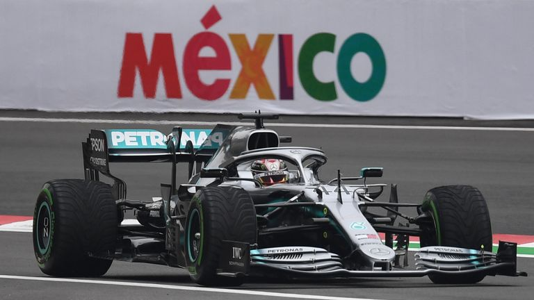 Mexican GP Practice One: Lewis Hamilton on top ahead of title bid | F1 News