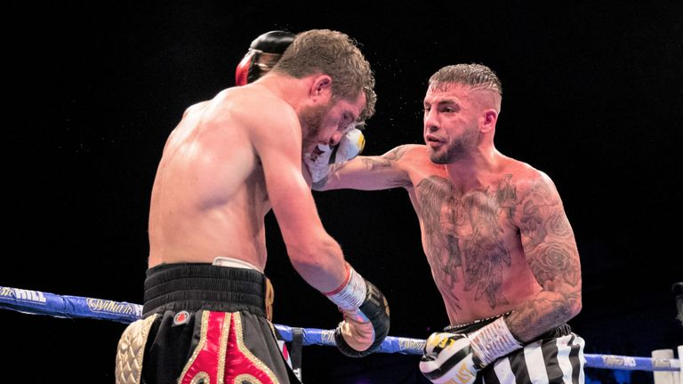 Ritson defeated Davies Jr on points at Newcastle Arena