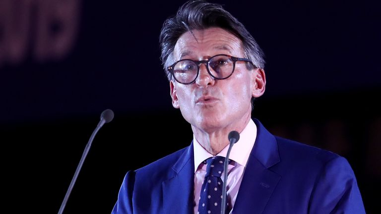 World Athletics president Lord Coe wants athletes to speak up and be heard